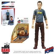 The Big Bang Theory Sheldon in Vintage Batman T-Shirt 3 3/4-Inch Action Figure Series 1