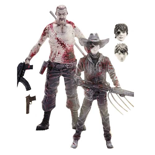The Walking Dead Comic Series 4 Carl Grimes and Abraham Ford Action Figure 2-Pack - Previews Exclusive