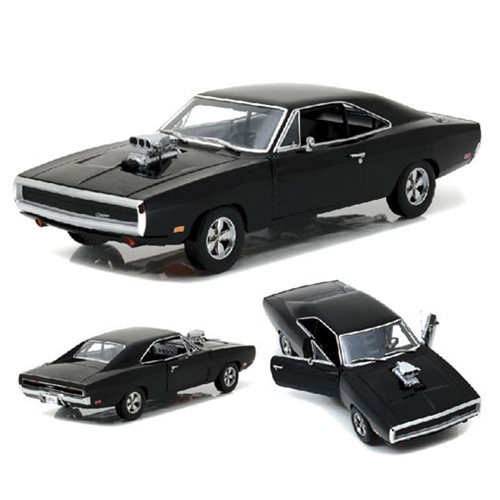 The Fast and the Furious 1970 Dodge Charger 1:18 Scale Die-Cast Metal Vehicle