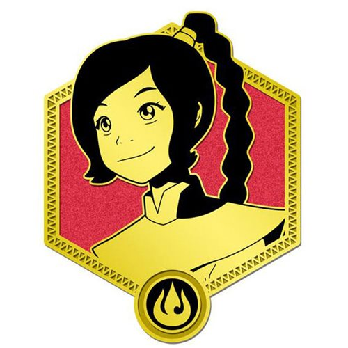 Avatar: The Last Airbender Gold Ty Lee Enamel Pin