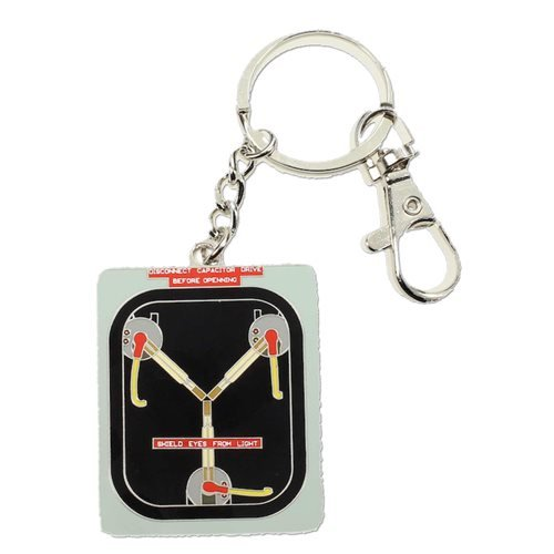 Back to the Future Flux Capacitor Metal Keychain