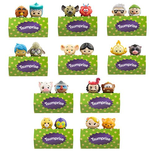 Disney Tsum Tsum 3-Pack Mini-Figures Wave 10 Case