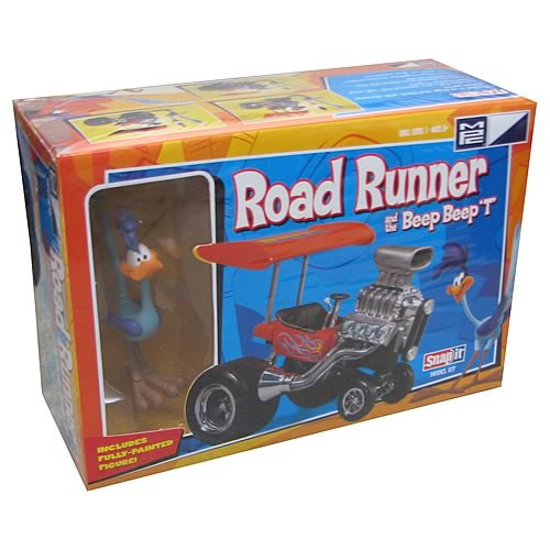 Looney Tunes Road Runner and Beep Beep T Vehicle Model Kit