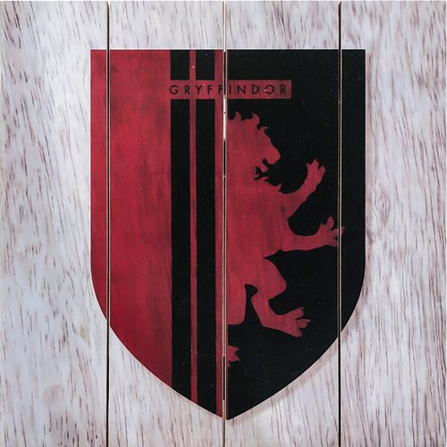 Harry Potter Gryffindor Wooden Sign
