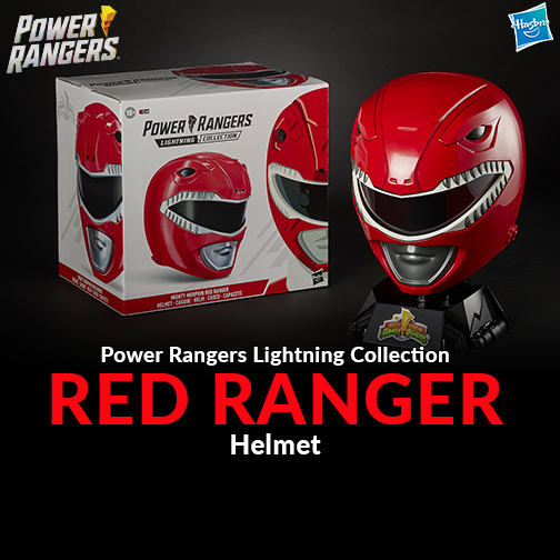Power Rangers Red Ranger Helmet