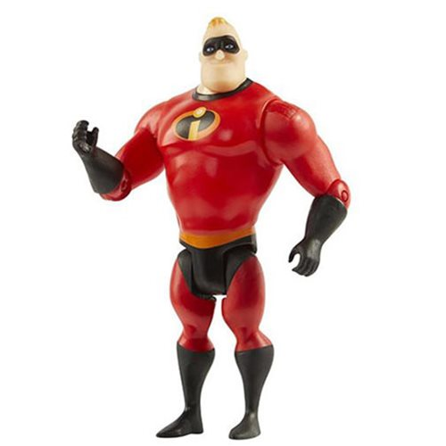 Incredibles 2 Mr. Incredible Basic 4-Inch Figure, Not Mint