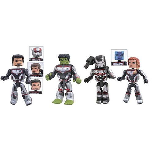 Marvel Avengers: Endgame Minimates 4-Pack Box Set, Not Mint