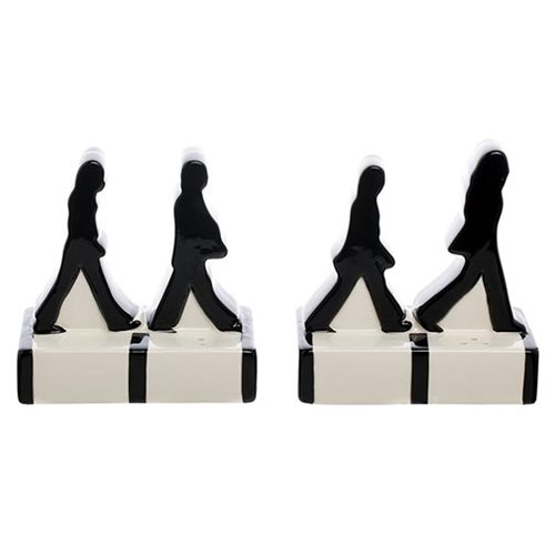 The Beatles Abbey Road Silhouettes Salt and Pepper Set