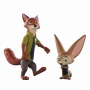 Zootopia Nick Wilde and Finnick Mini-Figure 2-Pack