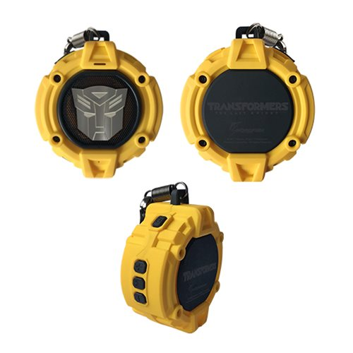Transformers The Last Knight Yellow Autobot Portable Bluetooth Speaker