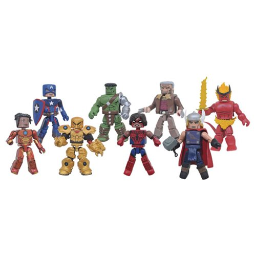 Marvel Minimates Series 74 Mini-Figure Set