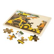 Melissa & Doug Diggers at Work 24-Piece Wooden Jigsaw Puzzle
