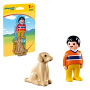Playmobil 9256 1.2.3 Man with Dog