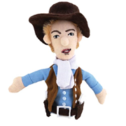 Billy the Kid Plush Finger Puppet Magnet