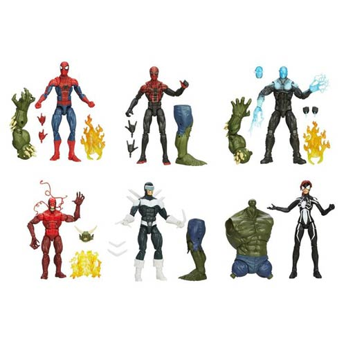Amazing Spider-Man 2 Marvel Legends Figures Wave 2