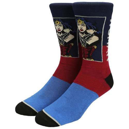 DC Comics Heroes Crew Socks Set of 5