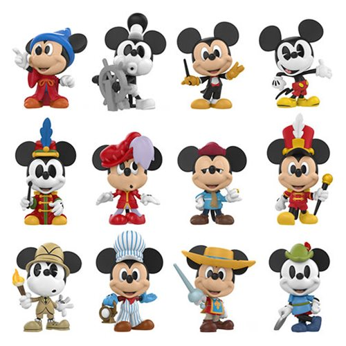 Mickey's 90th Mini Vinyl Figure Display Case