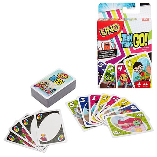 Uno Teen Titans Go! Card Game