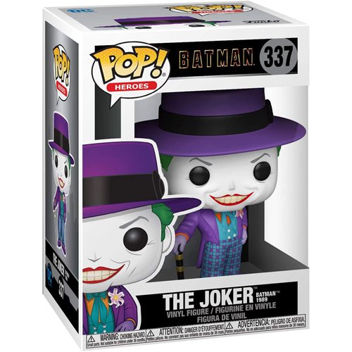 Batman 1989 Joker Pop! Vinyl Figure, Not Mint