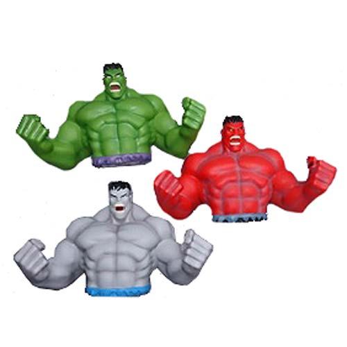 Marvel Avengers Red Hulk Bust Coin Bank
