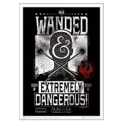 Fantastic Beasts and Where to Find Them Wanted and Extremely Dangerous Art Print