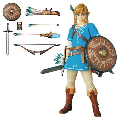 Legend of Zelda: Breath of the Wild Link Real Action Hero Figure