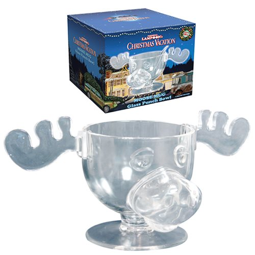 National Lampoon Christmas Vacation Marty Moose 136 oz. Punch Bowl