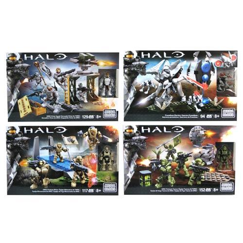 Mega Bloks Halo Fire Team Series 2 Case