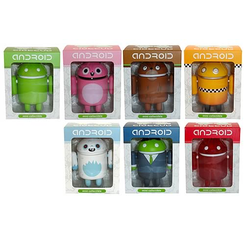 Google Android 3-Inch Vinyl Figure Wave 1 Case