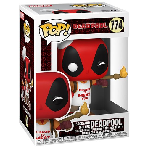 Deadpool 30th Anniversary Backyard Griller Deadpool Pop! Vinyl Figure