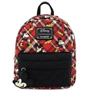 Mickey Mouse Plaid Mini Backpack