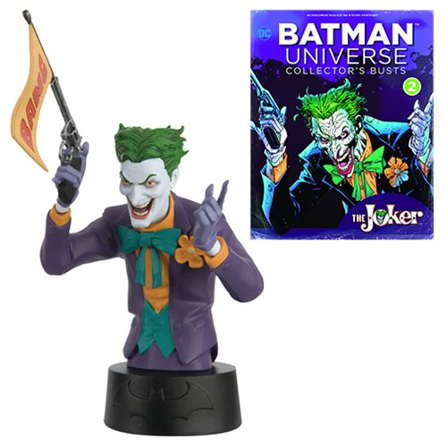 Batman Universe Bust Collection Joker Bust with Magazine #2