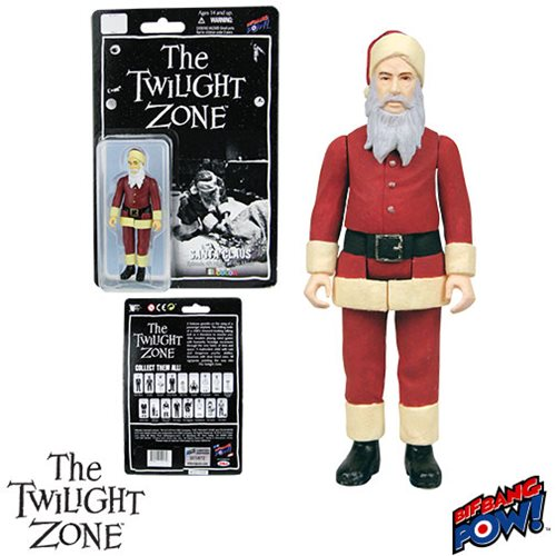 The Twilight Zone The Night of the Meek Santa Claus 3 3/4-Inch Action Figure In Color Series 2