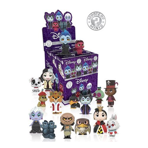 Disney Villains Mystery Minis Wave 1 Display Case