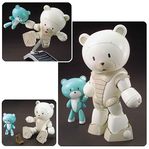 Gundam Build Fighters Try Beargguy F (Family) High Grade 1:144 Scale Model Kit