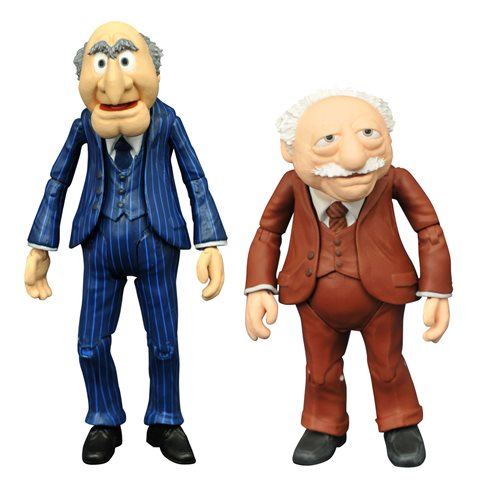 Muppets Best Of Series 2 Statler & Waldorf Action Figure