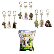 Nintendo Legend Zelda 2-D Laser Cut Key Chain Random 6-Pack