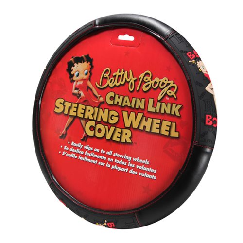 Betty Boop Chainlink Steering Wheel Cover