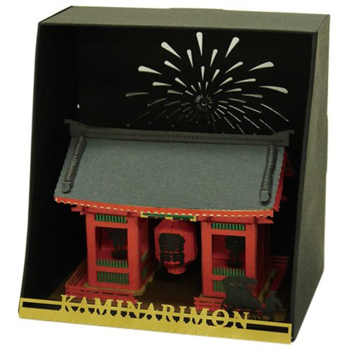 Kaminarimon Gate Paper Nano Model Kit