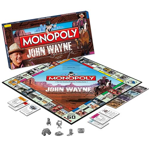John Wayne Collector's Edition Monopoly