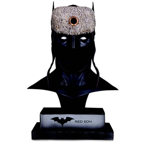 DC Gallery Red Son Batman Cowl Statue