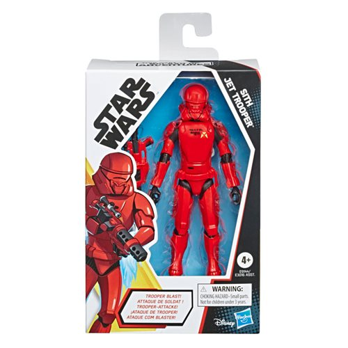 Star Wars Galaxy of Adventures Sith Jet Trooper 5-Inch Action Figure