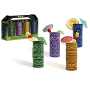 Ceramic Tiki Mug Party Pack