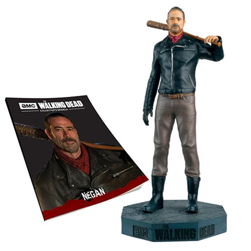 The Walking Dead Negan Figure with Collector Magazine #26