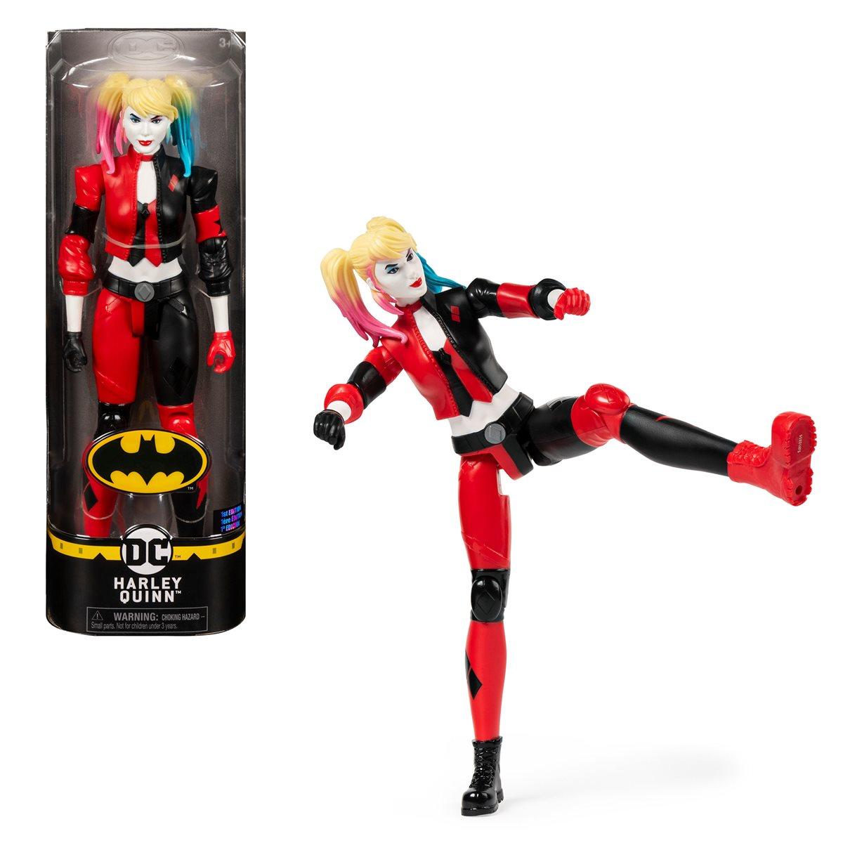 Multicolore BATMAN 6056693 12 pollici Harley Quinn Figura Azione