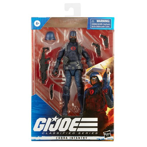 G.I. Joe Classified Series 6-Inch Cobra Infantry Action Figure