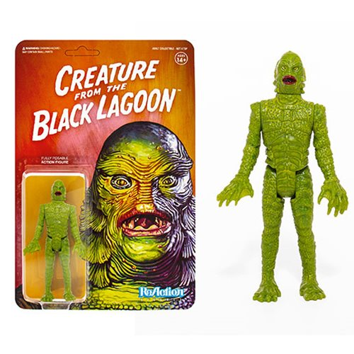 Universal Monsters Creature from the Black Lagoon 3 3/4-inch ReAction Figure