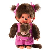 Monchhichi Mother With Baby Plush