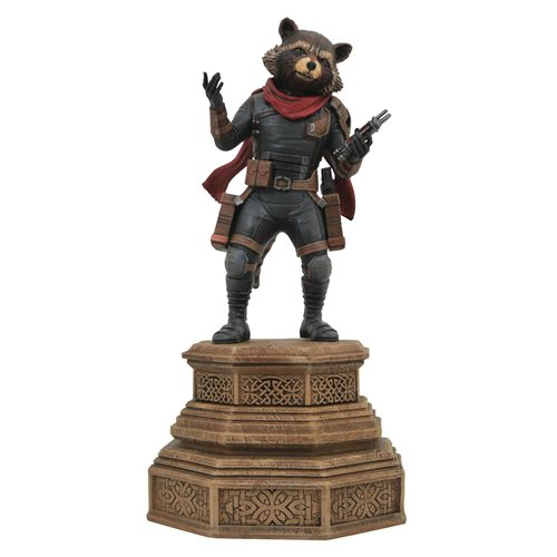 Marvel Movie Gallery Avengers: Endgame Rocket Raccoon Statue