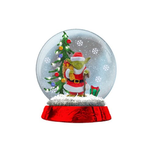 Star Wars Yoda LED Light-Up 4 1/2-Inch Snow Globe